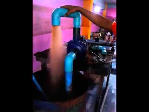 """blue1-2014  ทดสอบปั้มน้ำไฟฟ้า 2""""× 2แรงม้า"""