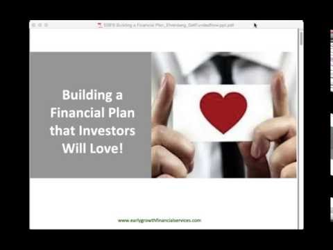 How to Build a Startup Financial Plan Investors Will Love