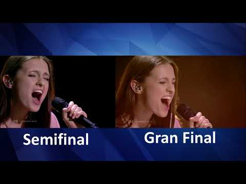 Ieva Zasimauskait - When Were Old - Lithuania - LIVE - Grand Final - semifinal - Eurovision 2018