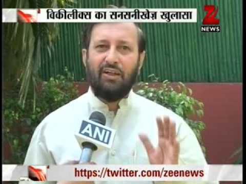 Zee News : WIKI LEAKS names Rajiv Gandhi in Swedish Arms Deal