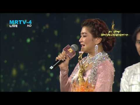 Eaindra Kyaw Zin won Actress in a Leading Role at Myanmar Academy Awards for 2017