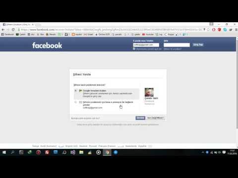 facebook şifre yenilemeden öğrenme