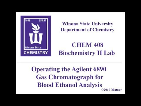 CHEM 406/408 - Operating the Agilent GC 6890 FID
