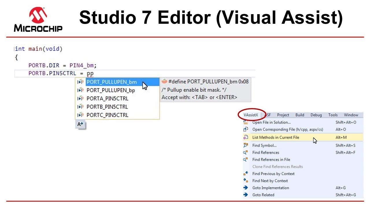 Getting Started with Atmel Studio 7 - Episode 11 - Editor Visual Assist
