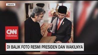 Di Balik Foto Resmi Presiden & Wakilnya