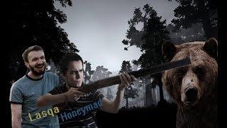 Ласка и Мэддисон рофлят в the hunter