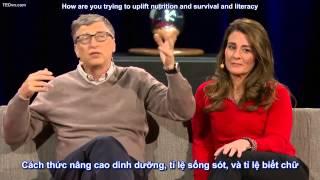 Video TED Vietsub Bill & Melinda Gates  Hãy cho đi download MP3, 3GP, MP4, WEBM, AVI, FLV Oktober 2018