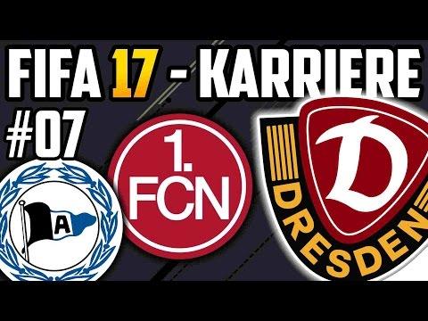 PULISIC TRAUMTOR!! (Bielefeld + Nürnberg) - FIFA 17 Dynamo Dresden Karriere: Lets Play #07
