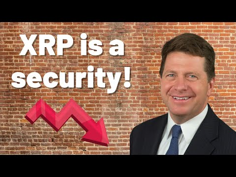 Is Ripple $XRP A Security? I Think So... Let's Discuss! (SEC's Howey Test)