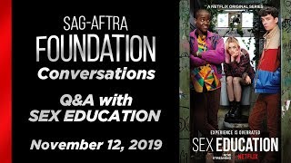 Conversations with Asa Butterfield & Ncuti Gatwa of SEX EDUCATION