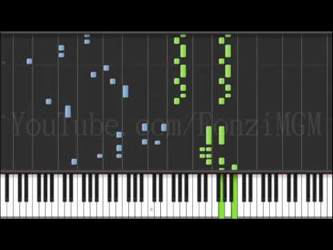"""[Divine Gate OP] """"one-Me Two-Hearts"""" - Hitorie (Synthesia Piano Tutorial)  [w/ MIDI + Sheets DL]"""