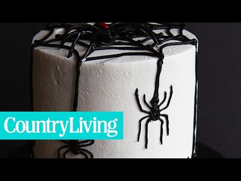Spooky Spider Cake | Country Living
