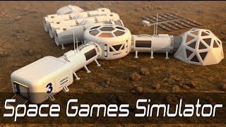 Space Games Simulator - Mars Colony Survival Android Gameplay ᴴᴰ