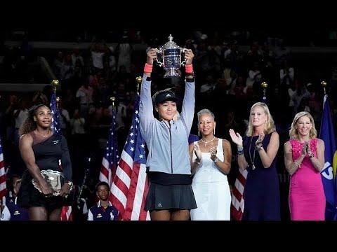 أوساكا تقهر غضب ودموع سيرينا ويليامز لتفوز ببطولة أمريكا المفتوحة للتنس…