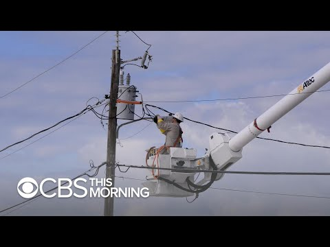 Power crews in Florida ready for widespread outages from Hurricane Michael