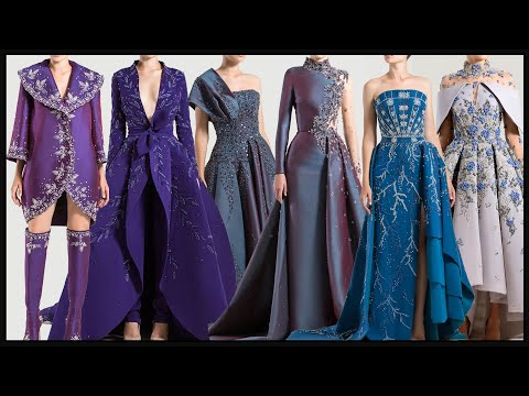 designer-party-wear-dresses-gown-frock-prom-designs-for-girls-&-women-||-fashion-style-haute-couture