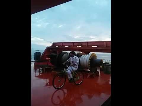 Cycle ride onboard Ottawa Express
