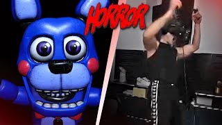 Inscope zockt VR HORROR 😰 - Five Nights at Freddy's 🤫 | InscopeGaming