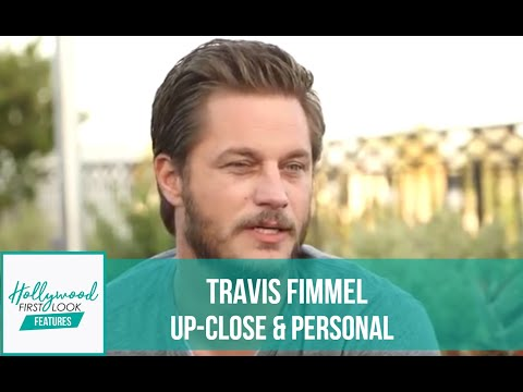 Travis Fimmel Upclose & Personal: Vikings, Maggie's Plan, Warcraft & more