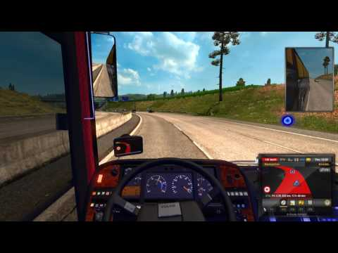 Euro truck Simulator 2 : Long Nice Journey