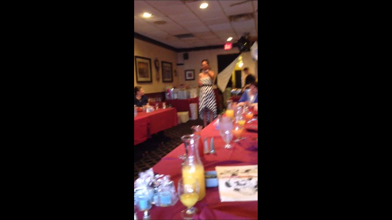 my speech at my sister on laws bridal shower
