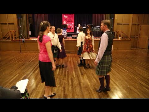 The Red Thistle Dancers (2015 Asilomar Scottish Dance Weekend)