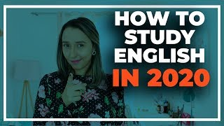 How To Study English In 2020 - 5 Study Tips