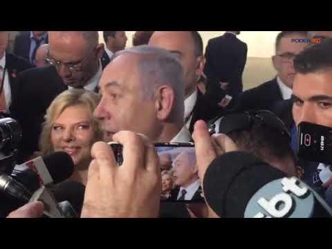 Primeiro Ministro De Israel, Benjamin Netanyahu, Celebrou Posse De Bolsonaro