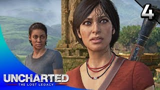 UNCHARTED: The Lost Legacy Walkthrough Part 4 · Chapter 4: The Western Ghats (100% Collectibles)
