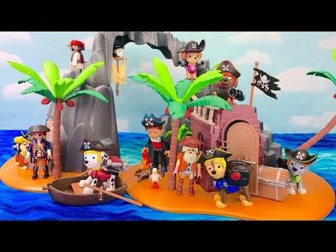 Thumbnail: Learn Colors with Paw Patrol Pirate Treasure Island Playmobile | Fizzy Fun Toys