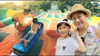 호텔에 워터파크가 공짜! 베트남 푸꾸옥 빈오아시스 라임 가족여행 phuquoc  | LimeTube