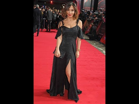 Myleene Klass proves thigh's the limit in sinfully high-cut gown