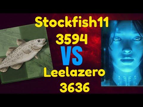 Leela chess Zero vs Stockfish 11
