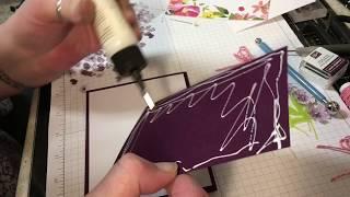 August 2018 Paper Pumpkin Alternative TUTORIAL!! Blissful Blooms AUGUST 2018, Stampin Up card kit