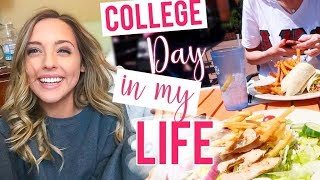 DAY IN MY LIFE: COLLEGE | School Vlog