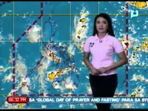[Weekend News] Ulat Panahon: Light to moderate rainshowers sanhi ng Intertropical Convergence Zone