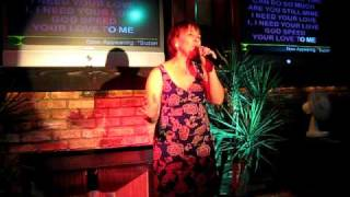 Marie - Unchained Melody - All Star Karaoke, Old Admirals Pub, Burnaby