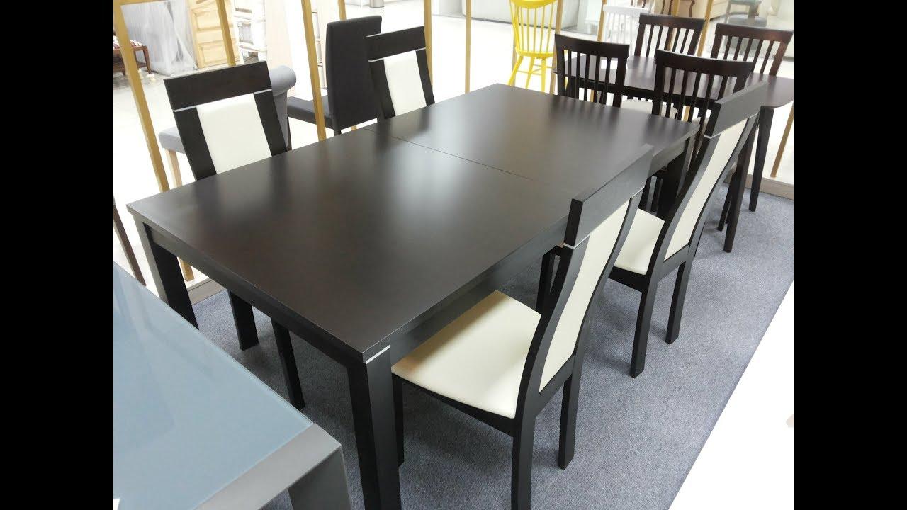 Купить обеденный стол +и стулья. Стол Рондо и стулья Классик - YouTube