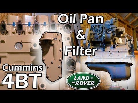 4BT Disco #10 × Oil Pan & Filter Conversion