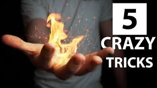 5 CRAZY Magic Tricks Anyone Can Do | Revealed
