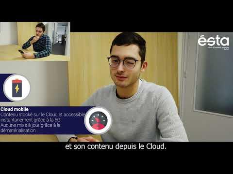 #ConcoursJeunesTalents - projet Cloud mobile - ESTA - Orange