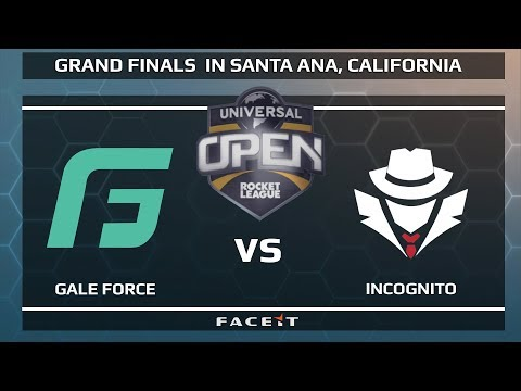 Gale Force vs Incognito - WB R1 - Universal Open Rocket League Grand Finals