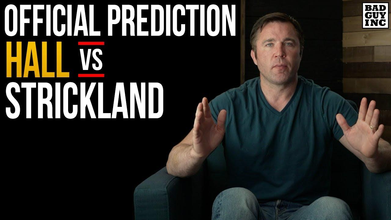 OFFICIAL PREDICTION: Uriah Hall v Sean Strickland