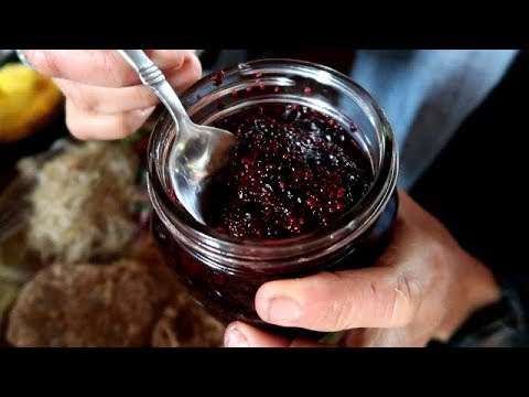 BLUEBERRY JAM~ NO SUGAR~ NO PECTIN~NO COOK!