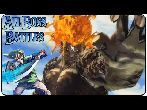 The Legend of Zelda Skyward Sword All Bosses