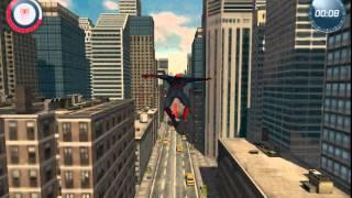 Игра Новый Человек Паук 2 прыжки