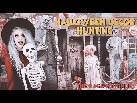 More Halloween Decor Hunting!! Walmart, Spirit Halloween, Home Depot, and more!!!
