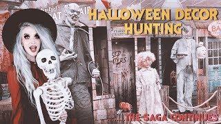 More Halloween Decor Hunting!! Walmart, Spirit Halloween, Home Depot, and more!!!