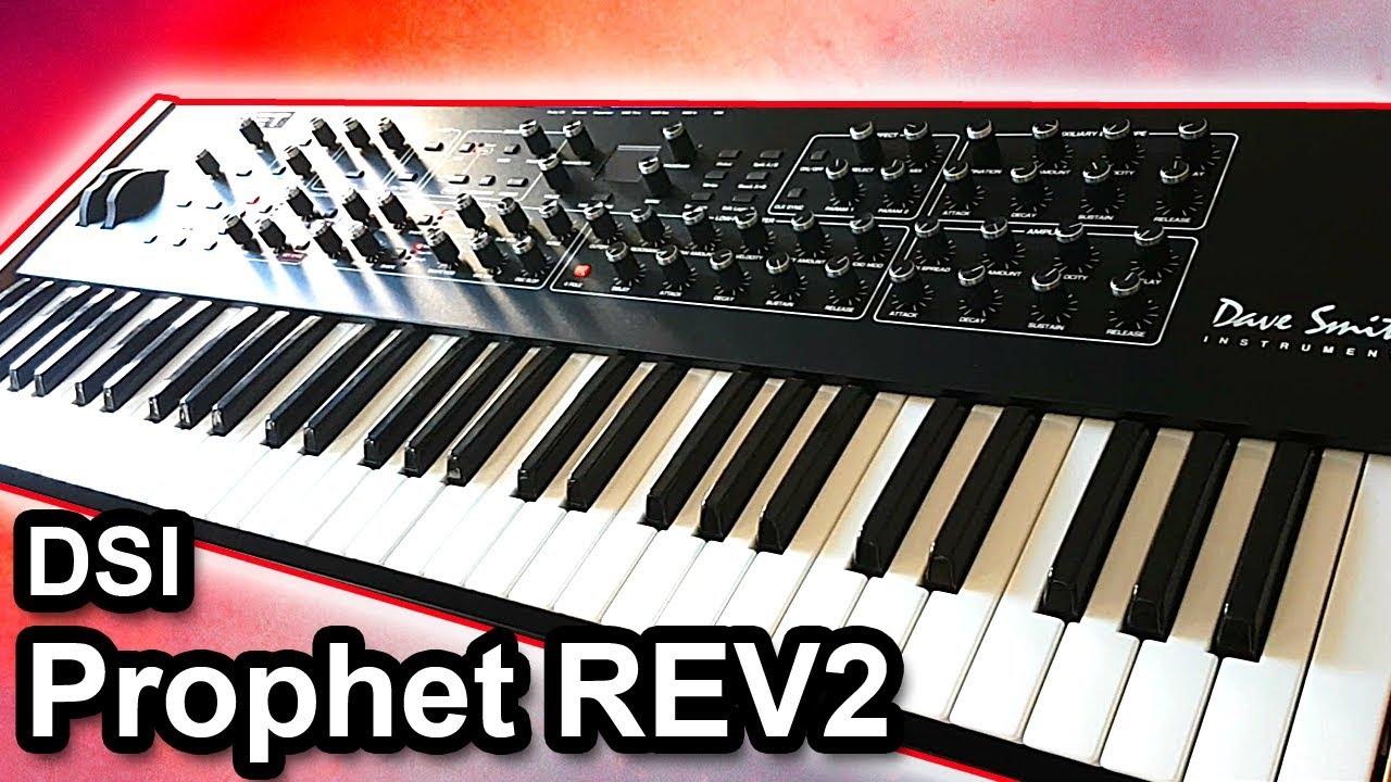dave smith instruments dsi prophet rev2 sounds synth demo youtube. Black Bedroom Furniture Sets. Home Design Ideas