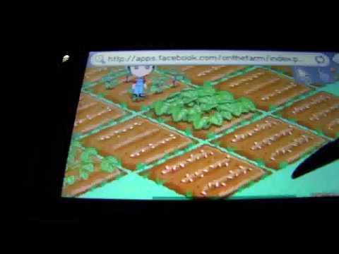 Farmville, Facebook On Phone, On Nokia 5800